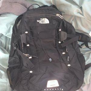Black North Face Borealis backpack